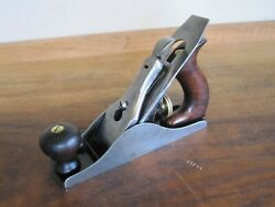 Rare Antique Vintage Stanley No 2 Type 2 1869-72 Pre-lateral Woodworking Plane