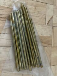 Bnwt Dolls House Miniature 1/12th Scale Brass Stair Rods