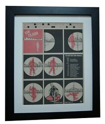 The Clash+white Man Hammersmith+poster+ad+orig 1978+punk+framed+fast Global Ship
