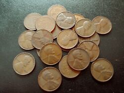 Nice Lot Of 21 Vf 1933-p Lincoln Cents
