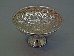 Antique Georgian Caucasian Tiflis Tbilisi Silver Wine Cup With Russian Marks