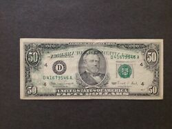 1990 Double Error Note, Back To Front Offset And Black And Green Seal On Back