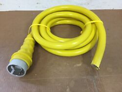 125/250v 50a X 15and039 Boat Shore Power Electrical Cord No Female End Ss2-50p Only