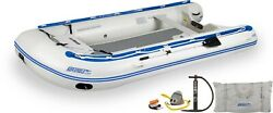 Sea Eagle 14and039 Sport Runabout Inflatable Boat W/plastic Floorboard Or Dropstitch