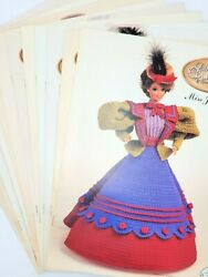 Vintage Complete12 Month Lovely Barbie/doll Crochet Patterns The Gay Nineties 91