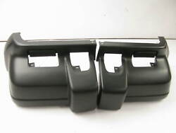 Front Bumper End Caps For 1997-2001 Jeep Cherokee Ch1005126- Ch1004126-set