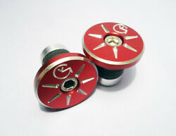 Von Giese Vg Bmx - Bar Ends - Cnc Aluminum - Made In Usa - Red Se Gt Haro Dyno