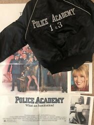 Police Academy Movie Promo Jacket Of Leslie Easterbrook Callahan Large + Poster