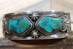 Gary Reeves Indian Jewelry Turquoise Bangle Silver Bangle
