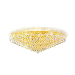 Crystal Ceiling Light Empire Ceiling Lamp Large Foyer Entryway Chandelier