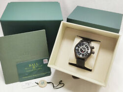 Ball Watch Engineer Master Ii Diver Gmt Menand039s Dg1020a Automatic Black Boxed