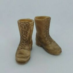 1/6 Scale Gi Joe Us Desert Boots For Most 12 Inch Action Figures 21st Century