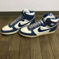 Nike Team Convention Men's Sneakers Size Us13 White X Navy Used
