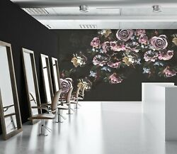3d Vintage Rose Zhu4225 Wallpaper Wall Mural Removable Self-adhesive Zoe