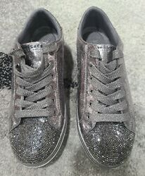 Skechers Goldie No Place Like Chrome Lace Up Sneakers Womens Size 7 Shoes