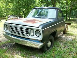 1977 Dodge Short Bed Pickup Truck, Little Rust, No T1tle Salvage Parts Car