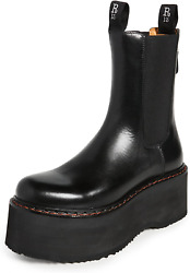 R13 Women's Double Stack Chelsea Boots