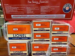 Lionel 6-31755 -25512 -25496 Texas Special W 2pack + Soundcar Aa W/ 7 Cars Boxed