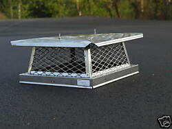 16'' X 16'' Stainless Steel Chimney Cap