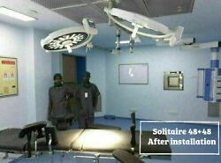 Operation Theater Light Led Ot Light Double Dome Surgical Light Operating Lights