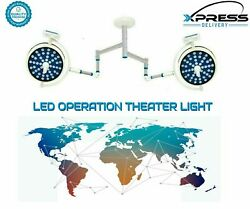 Cold Light Operation Theater Light Double Operating Lamp Led Surgical Ot Lights