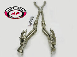 Maximizer Full Length Header Compatible W/ 97-00 Corvette C-5 At/mt With X-pipe