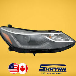 For 2016 2017 2018 2019 Chevy Chevrolet Cruze Led Drl Headlight Right Hand Side