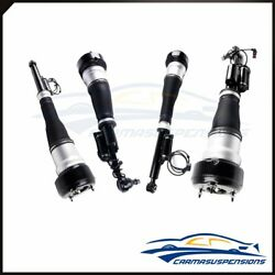 Air Struts For 4matic Mercedes W221 S500 S550 Cl500 Front Rear Full Set Of 4