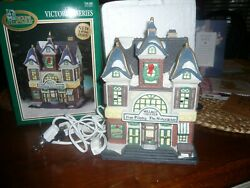 1996 Dickens Collectables Victorian Series Theatre Lighted Christmas Village