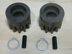 Brinly Hardy Leaf Lawn Sweeper Wheel Drive Pinion Kit Oem Gears/pins/washers