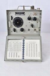 Nos Ww2 Wwii Us Navy Radio Signal Corps Hedrodyne Frequency Meter Ts-323/ur