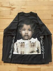 Donda Merch Chicago Exclusive Kanye West 2 In 1 X-large House Tshirt