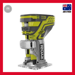 Ryobi One+ 18v Trim Router - Skin Only Quick-release Lever And Micro-adjustment