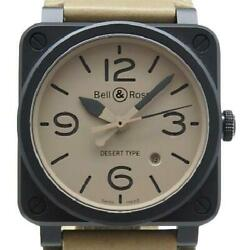 Bell And Ross Heritage Wrist Watch Automatic Br03-92 W/ Box Warranty Card Tool