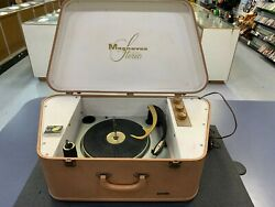 Vtg Magnavox Record Player Stereo Micromatic