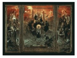Lord Of The Rings Triptych Art Poster Print Variant /450 Gabz 36x24 Lotr
