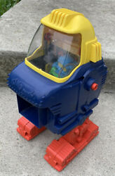 Vintage 1970s Topper Toys Ding-a-lings King-ding Robot - As Is Not Tested Parts