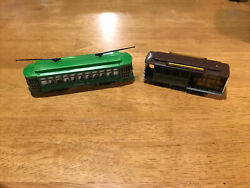 Ho Scale Model Trains 2 Classic Street Cars Trolleys Powell And Mason And Desire St.