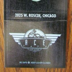 Camel 30 Matchbook Cover Ace Cafe Chicago, Illinois Motorcycle 1997 -e3