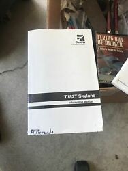 Cessna Turbo Skylane Airplane Information Ownerand039s Manual Poh - T182t