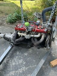 1949 Plymouth Flathead 6 Motor And Transmission