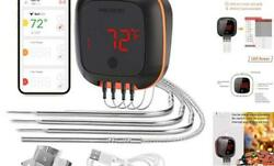 Grill Thermometer,bluetooth Smoker Thermometer,cooking Digital Bbq