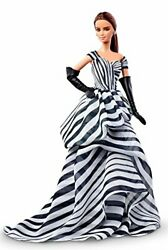 Barbie Dolls Collector Collectable Collection Dgw59 Black And White Chiffon