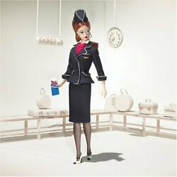 Barbie Dolls Collector Collectable Collection J4256 Stewardess