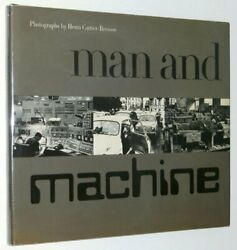Man And Machine A Studio Book By Henri -bresson - Hardcover Excellent