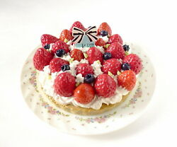 It Looks Justthe Real Thing. Fake Sweets Strawberry Tart Memo Stand Food Samples