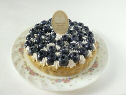 It Looks Justthe Real Thing. Faux Sweets Blueberry Tart Memo Stand Note Clip