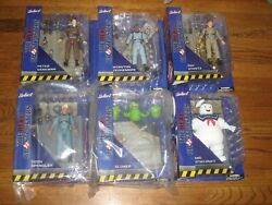 Real Ghostbusters Select Complete Set Egon Spengler, Peter, Ray, Winston