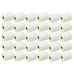 30rolls 4x3 Direct Thermal Shipping 500 Labels For Zebra Lp2824 Lp2844 Lp2442
