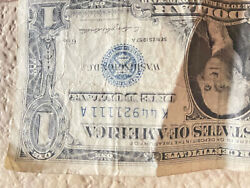 1957a 1 One Dollar Silver Certificate Consecutive.